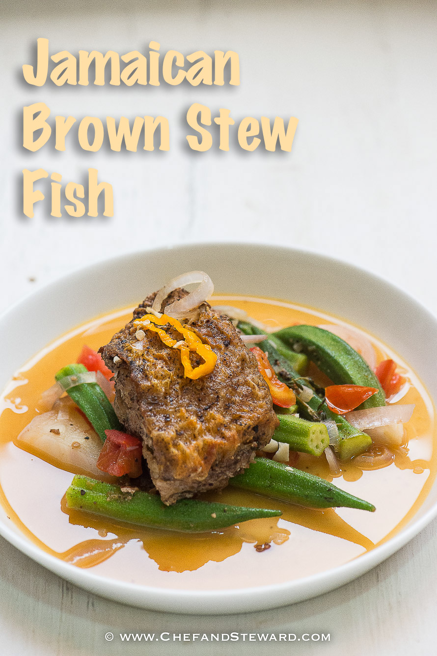 Jamaican brown stew fish recipe chef and steward jamaican brown stew fish for healthy ramadan recipe 8 forumfinder Images
