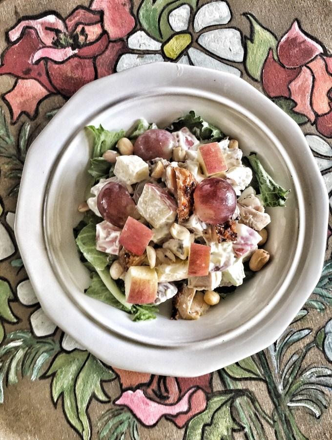 Jerk Chicken Waldorf Salad Jamaican Recipe