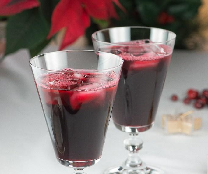 Jamaican Christmas Sorrel Drink