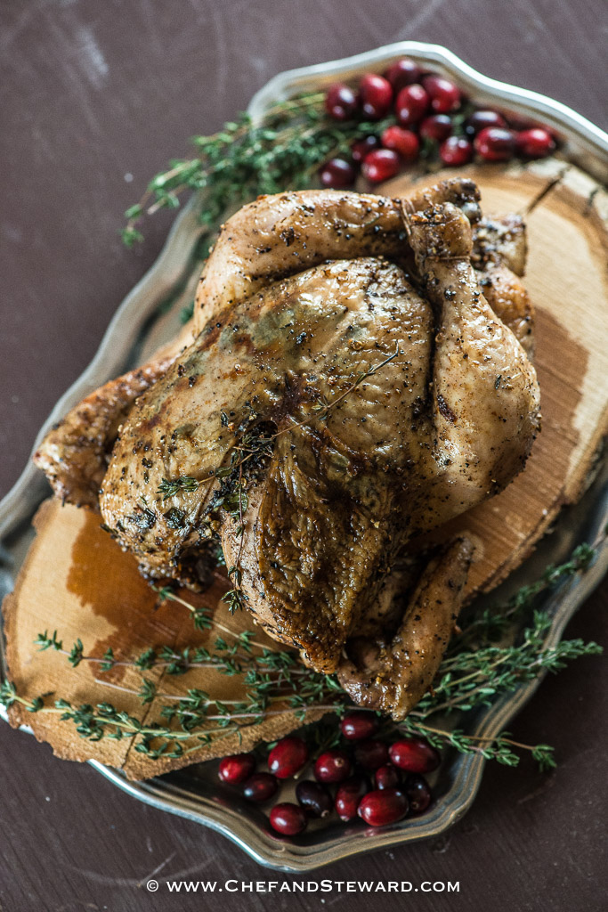 Jamaican Roast Chicken for Christmas recipe by Chef and Steward, award winning food, travel, lifestyle and wellness expat bloggers from Jamaica
