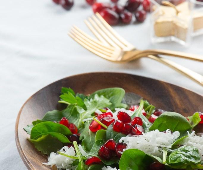 Tropical Christmas Salad