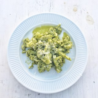 Cauliflower Pesto Pasta Keto Paleo Lowcarb Glutenfree Diabetic Vegetarian