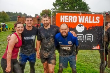 Tough Mudder North West 2017 Hero Walls