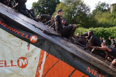 Tough Mudder North West 2017 Human Pyramid
