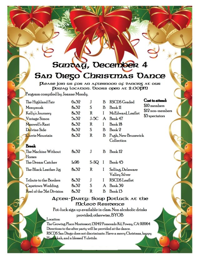 2016 Christmas Dance Program