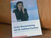 25 jaar dienstverlening van de makelaar taxateur