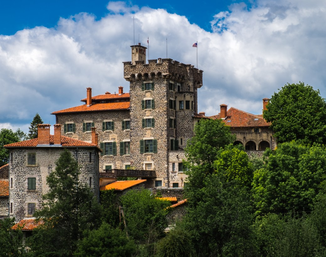Lafayette Chavaniac Auvergne France