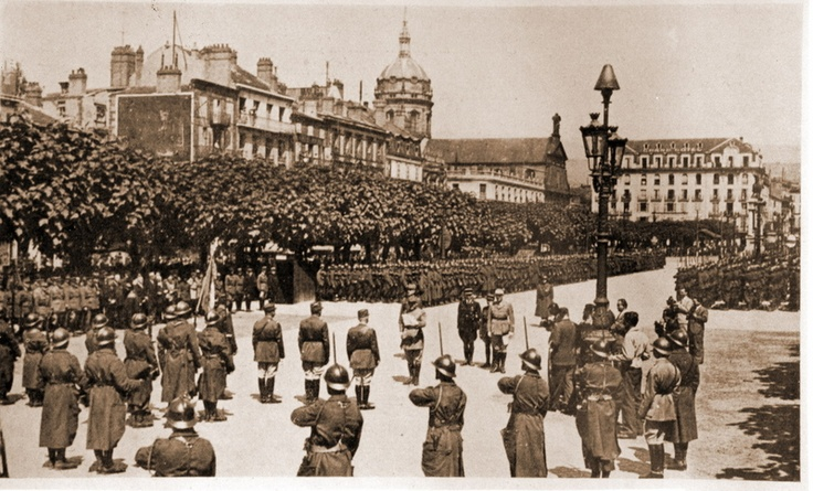 Place de Jaude on June 21, 1940