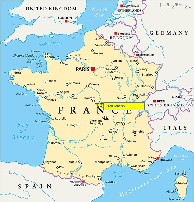 Souvigny - Allier - Deep Heart of France