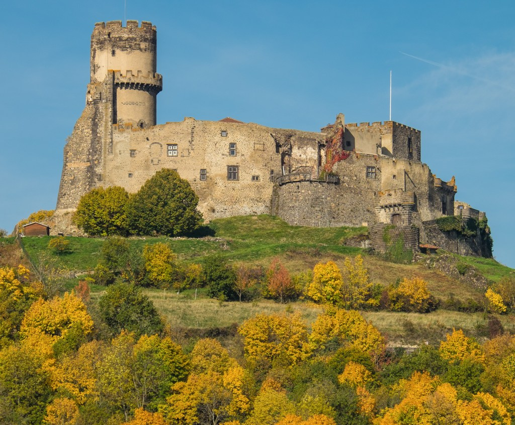 Chateau Puy-de-Dome Auvergne