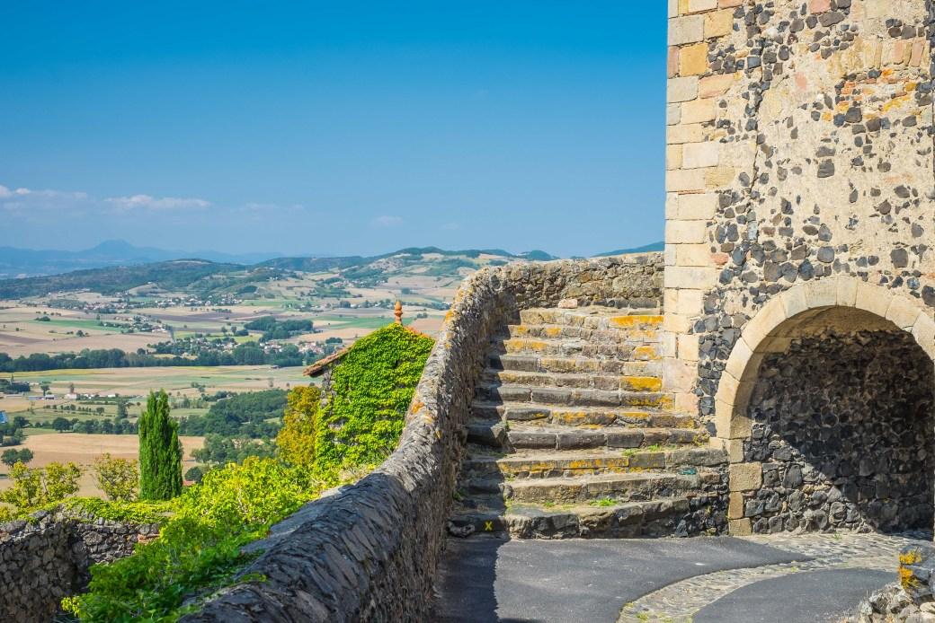 Usson Auvergne France Travel Medieval