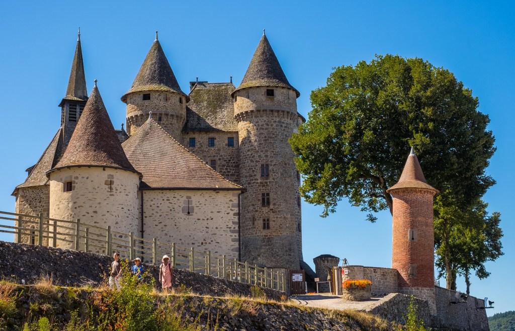 Chateau Val Cantal Auvergne Castle