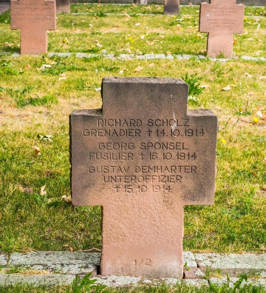 Carmes Cemetery WWI German Clermont-Ferrand Auvergne