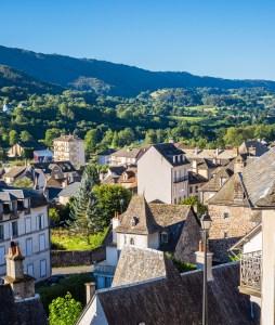 Vic-sur-Cère Auvergne Cantal France