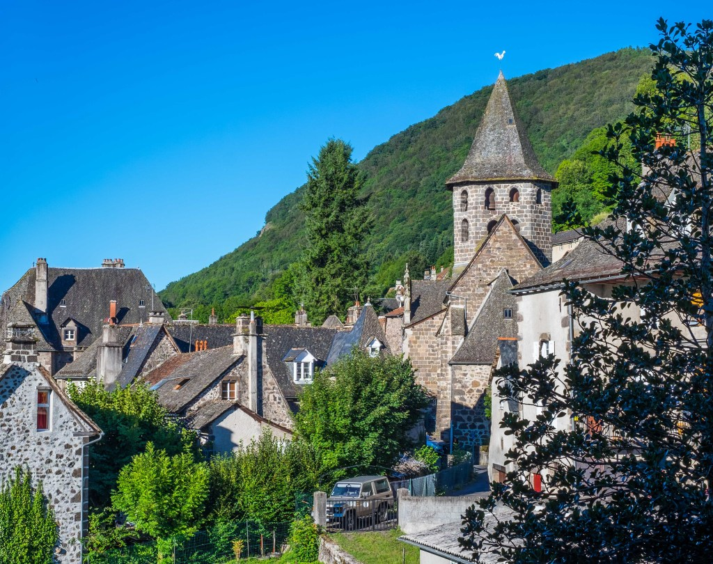 Vic-sur-Cère Auvergne Cantal France