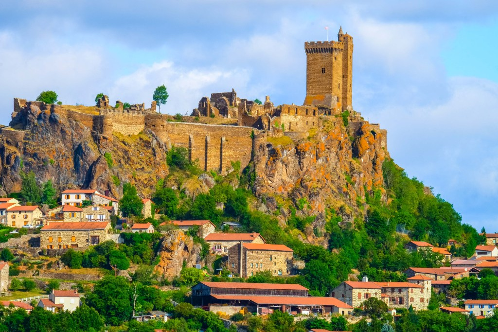Polignac Chateau Castle Auvergne Velay France