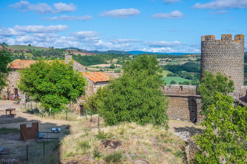 Polignac Chateau Castle Auvergne Velay France
