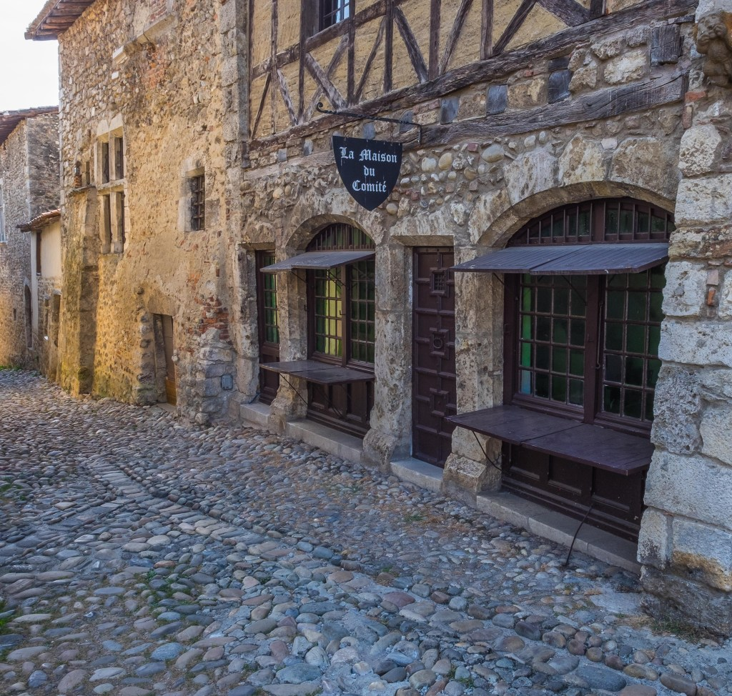 Pérouges Perouges Ain Lyon Rhone Rhone-Alpes France Medieval