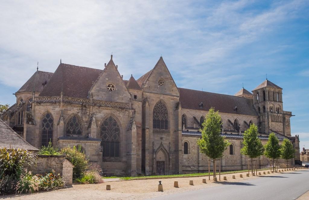 Souvigny Auvergne Allier Bourbon Bourbonnais France French Travel Medieval