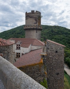 Tournoel Castle Chateau Auvergne France