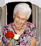 Ada with rose