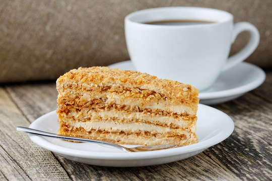 Master Class: Cake Medovik w domu