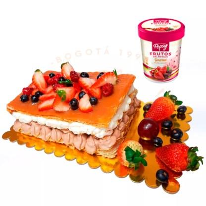 Milhoja Chocoarequipe + 0.5 L de helado Popsy®