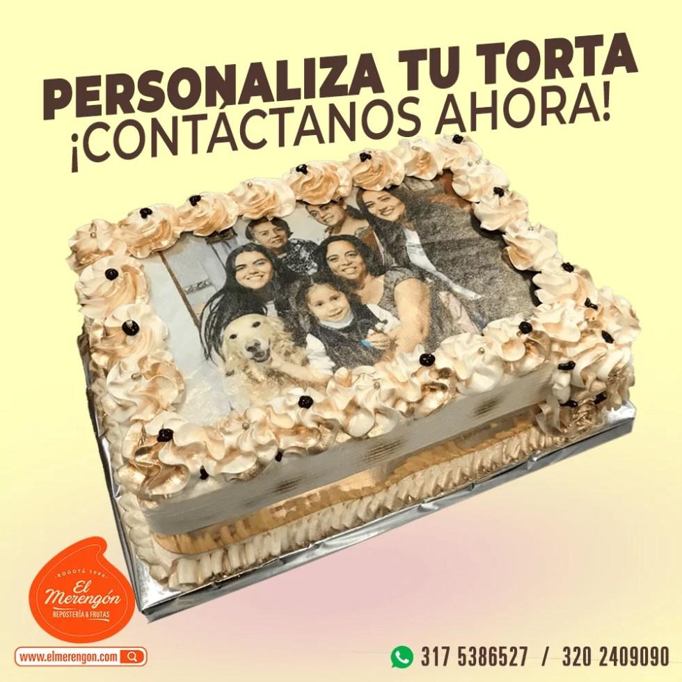 Torta Personalizada, El Merengón