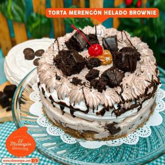 Torta Merengón helado y brownie