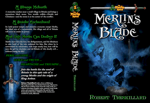 Merlin's Blade Book Cover Sample 1