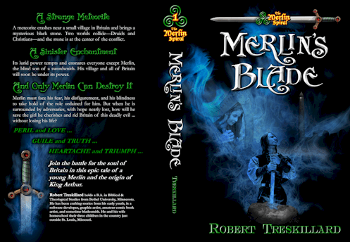 Merlin's Blade Book Cover Sample 2