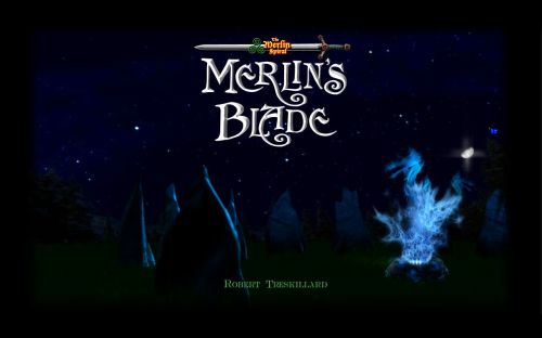 Merlin's Blade Wallpaper