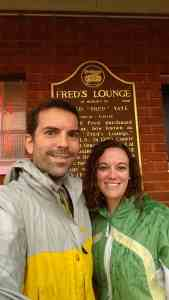 Fred's Lounge Historic Sign