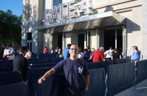 At the New Yankee Stadium