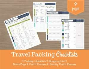 travel-checklists