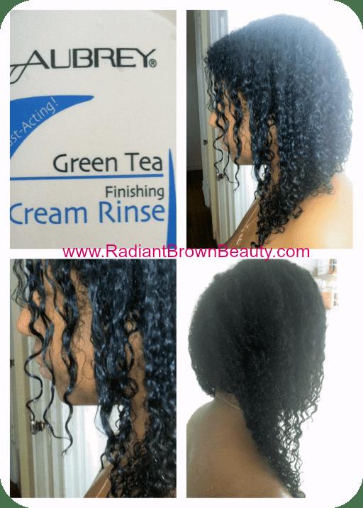 aubrey organics green tea finishing cream rinse
