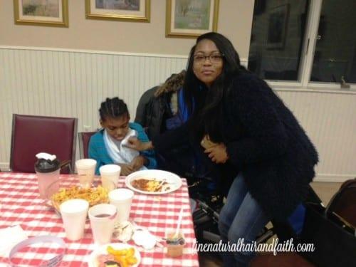 CJ with his big sis