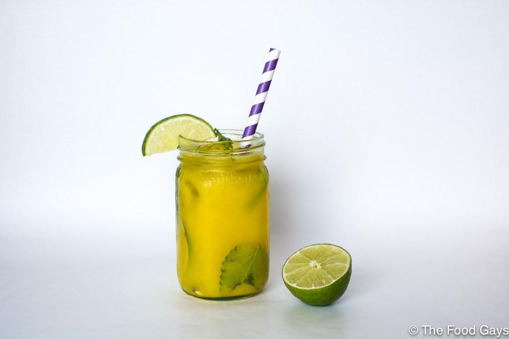 mango lime agua fresca | foodgays.com-2