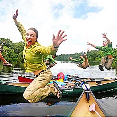 Dave and Amy Freeman's Major Wilderness Treks