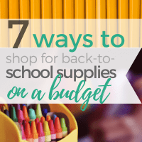 Ways to Save Money on Back-to-School Supplies