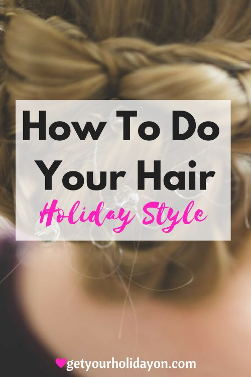 Are you planning a holiday party or going to a get together and need hair style ideas? Check out these Hair Holiday Style ideas that will be sure to turn heads at your party.
