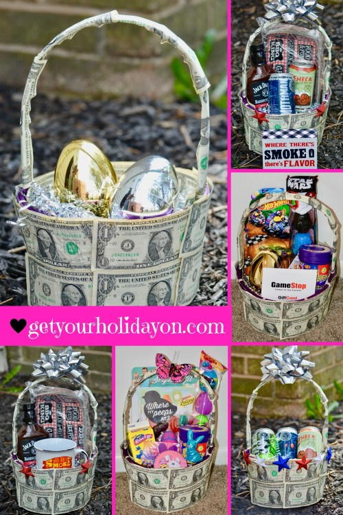 Hello Uniqueness! Check out this really fun, inventive, unique way to create a money gift basket. This idea will be a hit at any celebration and will stand a part from the crowds. Whether the celebration be for Easter, Birthday, Anniversary, Christmas or any other holiday in between this will leave a unique lasting impression. Planning a holiday and looking for inspiration check out