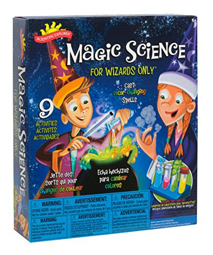 Do you have a little wizard on your hands? Check out this educational kit that will teach any kid the science behind the magic. Great for a birthday gift, a present for a party, for a after school project, holiday or summer fun.