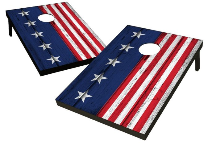 Stars & Stripes Cornhole Bag Toss Game