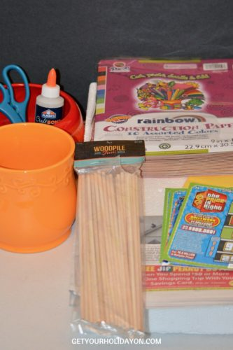 supplies needed for project on getyourholidayon