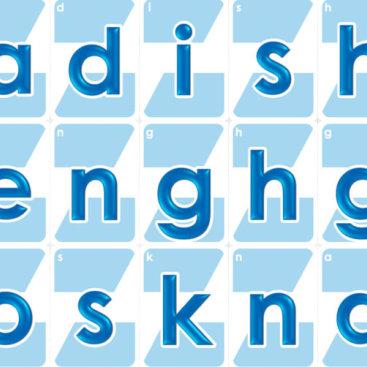 Letters2words Kleinbuchstaben