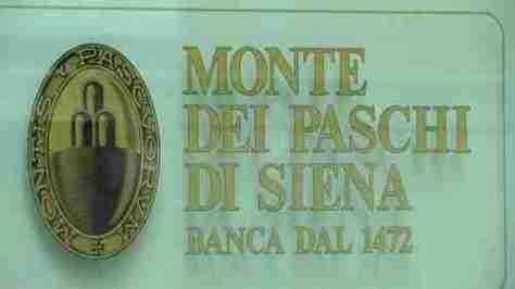 The Banco Monte dei Paschi di Siena (MPS), established 1472, the world's oldest operating bank