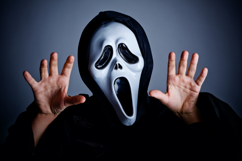 Scream - example of the impact of Hollywood on Halloween