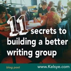 11_secrets_better_writing_group