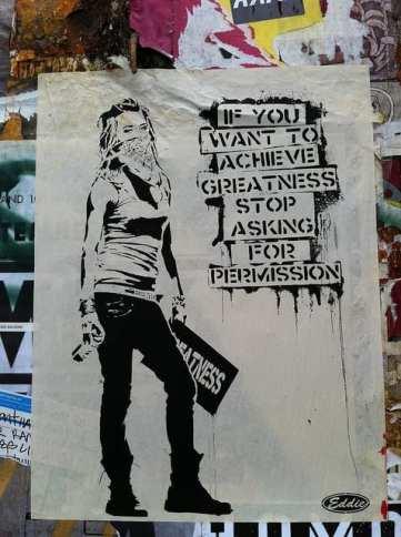 Street art by Eddie Colla.
